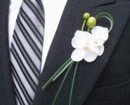 Boutonniere Sposo - Fiore all'occhiello