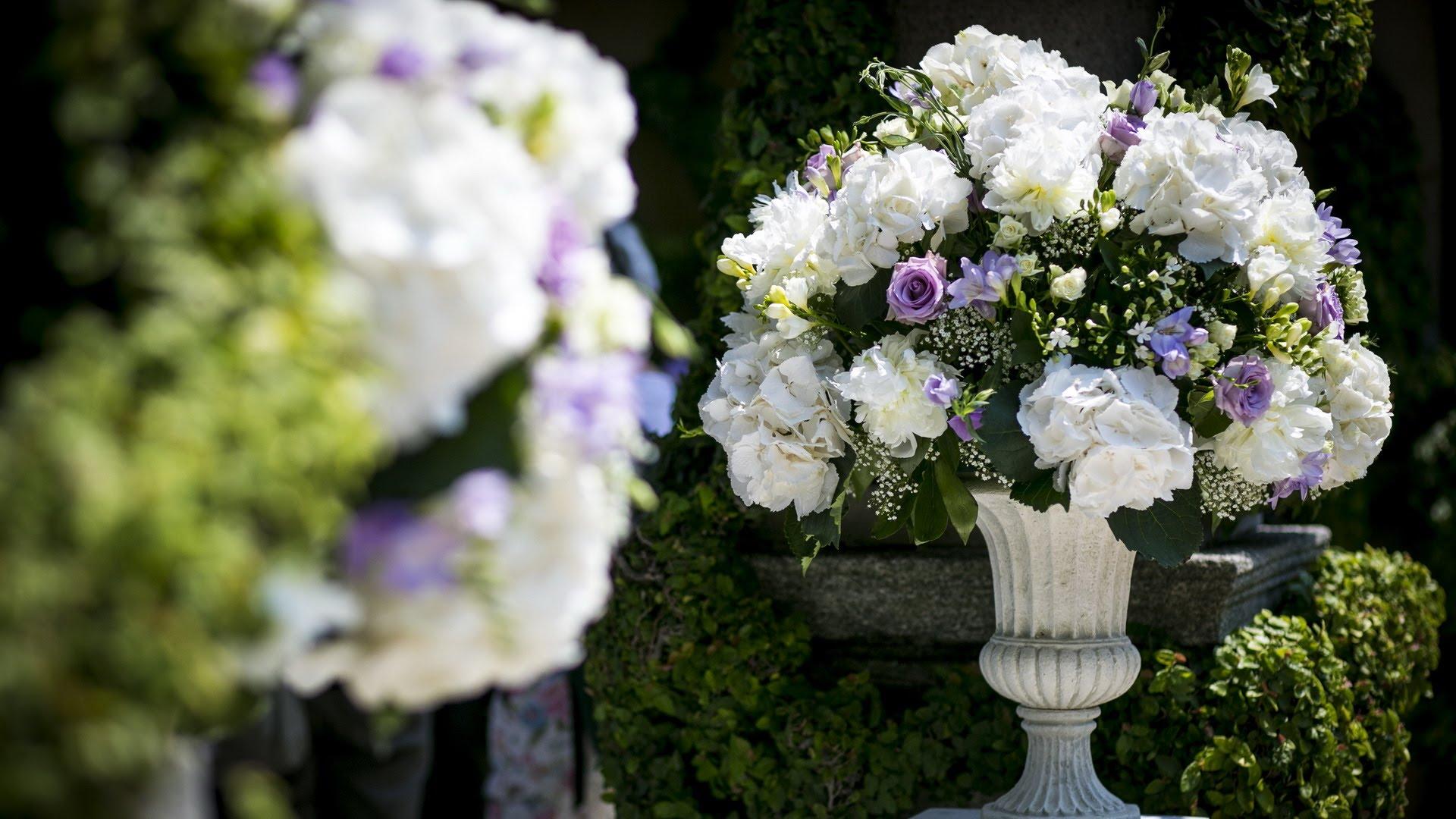 Composizioni floreali matrimonio Roma Nettuno Anzio