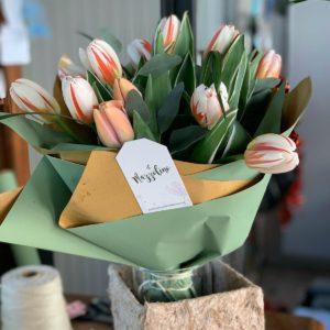 MMazzolino fantasia di tulipani